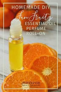 DIY Fun Fruity Essential Oil Perfume Roll On Recipe