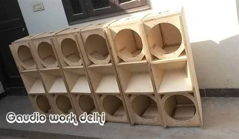 speakers cabinet line array empty cabinet dual 12 manufacturer from new delhi