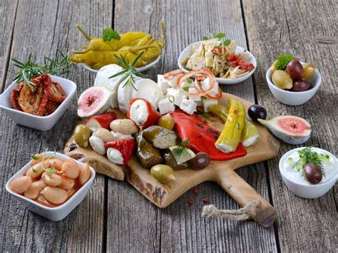 Ten Healthy Mediterranean Foods