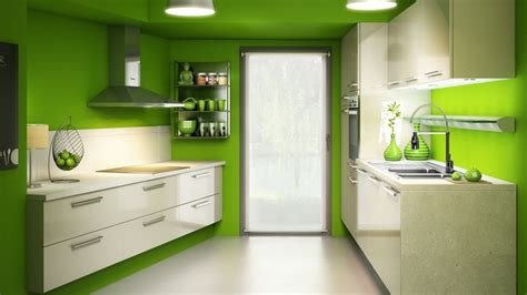 cuisine verte et marron décoration cuisine couleur verte exemples d 39 aménagements