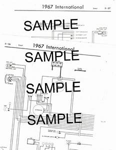 1970 International Harvester Scout 70 Wiring Guide Chart Diagram
