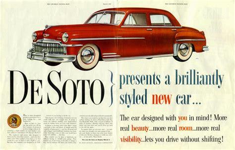 desoto    publicites anciennes vintage ads