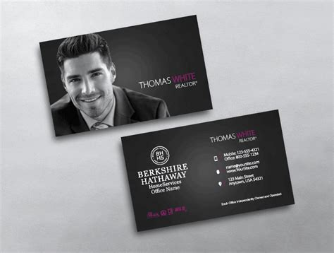top  berkshire hathaway business card designs