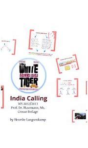 Aravind Adiga's The White Tiger by Henrike Langsenkamp