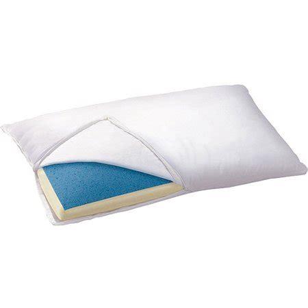 walmart my pillow sleep innovations gel infused pillow walmart