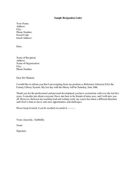 Email Resignation Letter Sample | resignation letter sample | Pinterest | Letters kindergarten