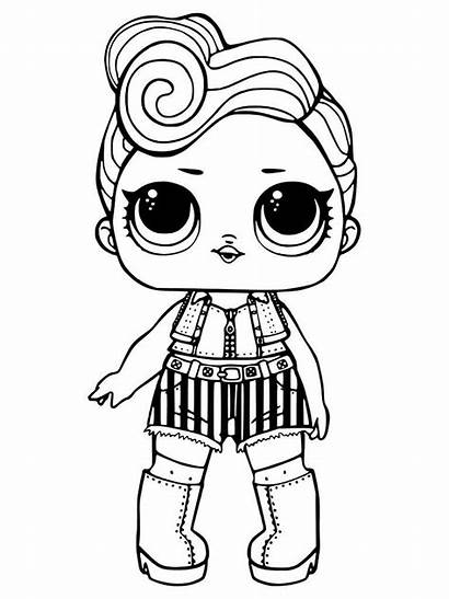 Lol Surprise Coloring Dolls Pages Printable Doll