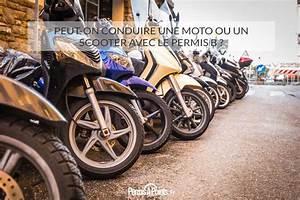 Permis B Moto : peut on conduire une moto ou un scooter avec le permis b ~ Maxctalentgroup.com Avis de Voitures