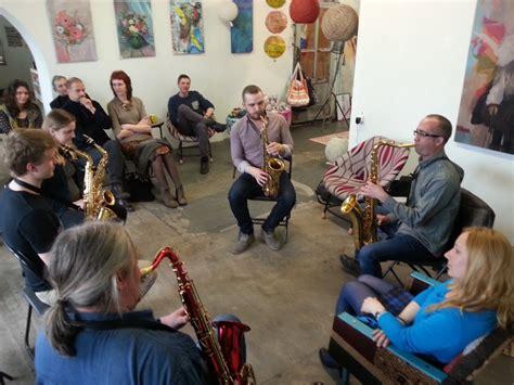 Notikusi džeza saksofonista Toma Rudzinska meistarklase ...