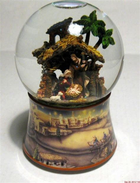 17 best images about mary joseph baby jesus snow globes on