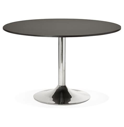 table ronde de bureau table de bureau ronde saopolo 120 cm table à diner