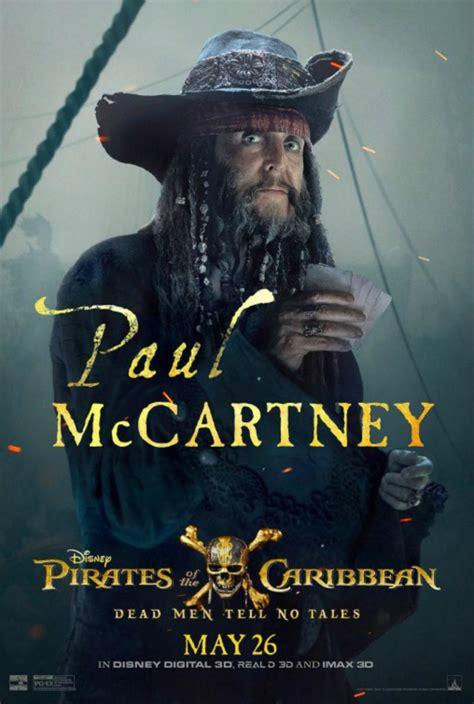 paul mccartney saffiche pour pirates des caraibes