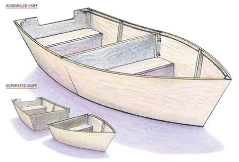 How To Draw A Wooden Boat by Cartoppable Row Boat