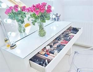 Table De Maquillage Ikea : new makeup storage my ikea malm makeup vanity makeup ~ Teatrodelosmanantiales.com Idées de Décoration