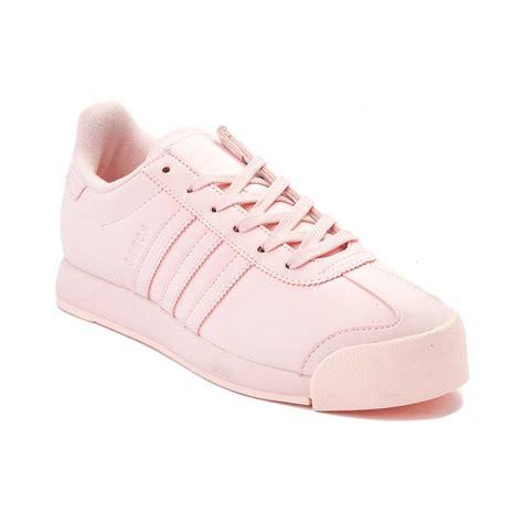 all light pink adidas womens adidas samoa athletic shoe pink 436469