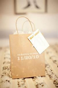 welcome bags for out of town wedding guests With things to put in wedding gift bags