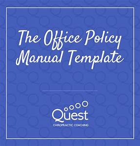The Office Policy Manual Template