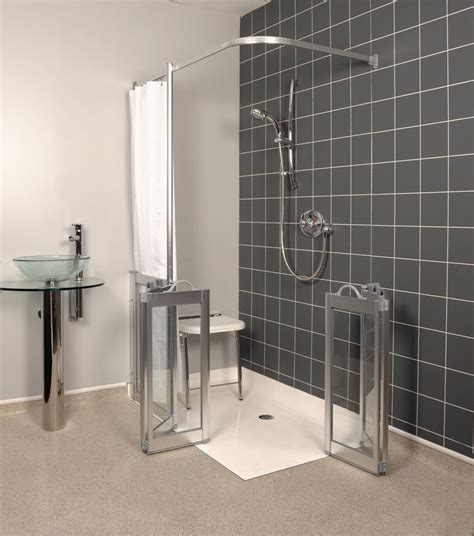 handicap walk in shower 92 best showers for the disabled images on