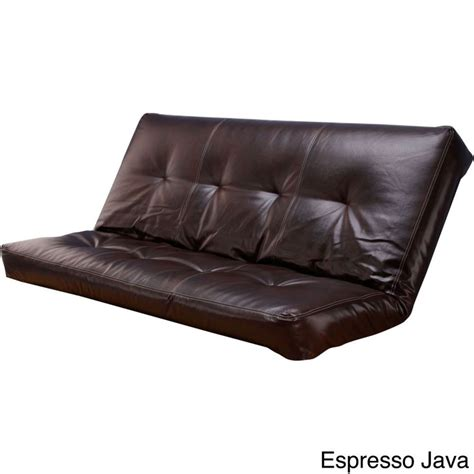 leather futon cover 1000 ideas about futon covers on futon