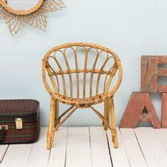 fauteuil en osier vintage rotin on wall mirrors rattan and vintage mirrors