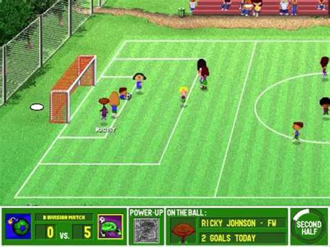 Backyard Soccer by Lets Play Backyard Soccer Pc 1998 Part 11 Road To The
