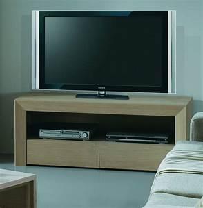 Meuble Tv Bois Design : meuble tv design en bois brin d 39 ouest ~ Preciouscoupons.com Idées de Décoration