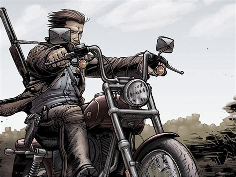 Outlaw Biker Wallpaper