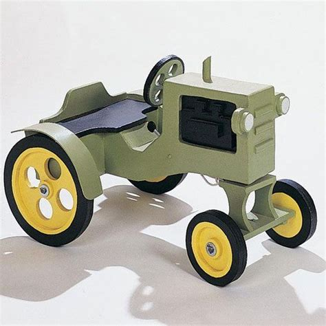 buy woodworking project plan  build tractor