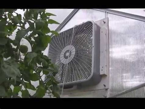 harbor freight barrel fan our new greenhouse modified one stop gardens harbor