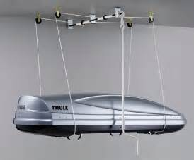 Kayak Ceiling Hoist Pulley by Thule 572 Mulilift Roof Box Lift Storage Ceiling Mount