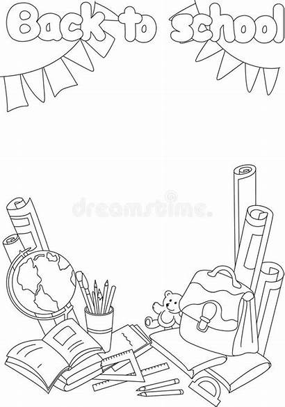 Coloring Background Books Paper Binder Vector Educational