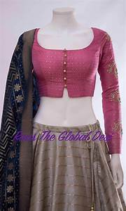 Contrast Bridal Lehenga Designs Chaniyacholi 2018 Saree Blouse Designs Latest Trendy