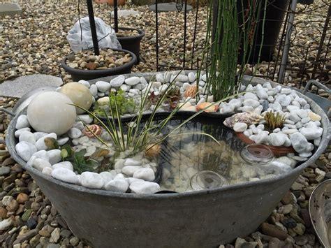 Miniteiche Und Wasserspiele by Elke S Miniteiche Garten Garten Garten Deko Ideen Und