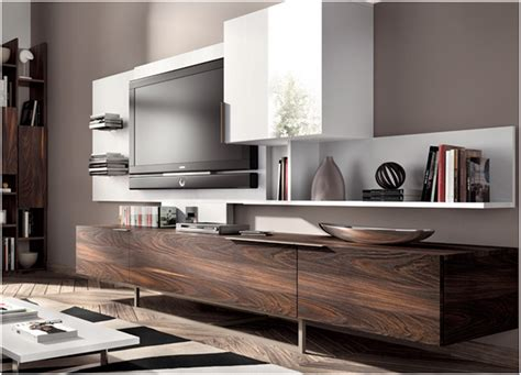 muebles tv modernos inspirador muebles madera oscura
