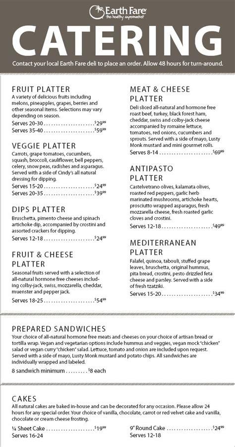 soul food catering menu food