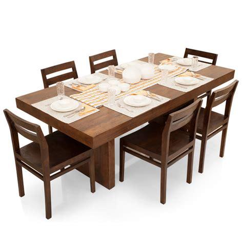 dining table set 6 seater jordan barcelona 6 seater dining table set thearmchair