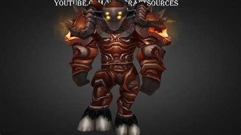warrior tier tauren armor t4 warbringer