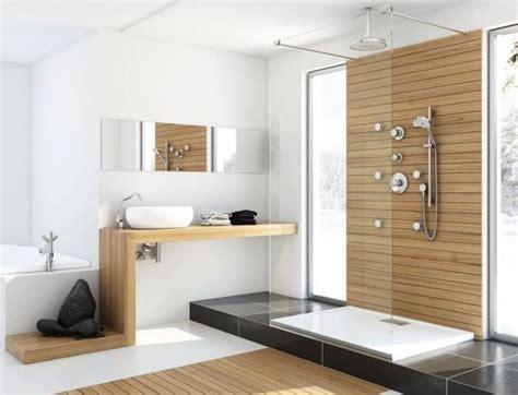 Bescheiden Moderne Badezimmer Bilder Modern Moderne B 228 Der Mit Holz Bescheiden On Modern In