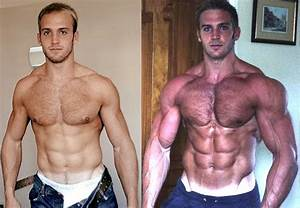 Bodybuilding Before And After Photo