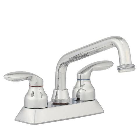 home depot utility sink faucet kohler coralais 4 in 2 handle low arc utility sink faucet