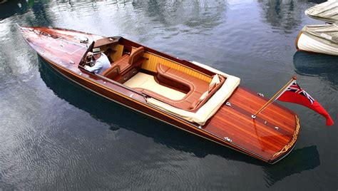 Italian Wooden Boat Plans by Mclaren S Design Just Built The World S Most