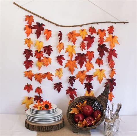 Herbst Girlande Fenster by Herbstdeko Selber Basteln 40 Erstaunliche Ideen