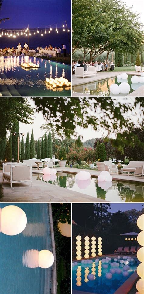 outdoor wedding ideas  amazing ways   floating