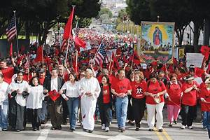 Current Day United Farm Workers March