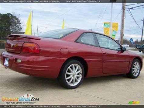Chrysler Sebring Lxi by Chrysler Sebring Lxi Coupe Hairstylegalleries