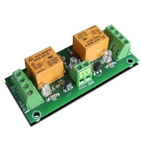 relay module 5v 2 channels for raspberry pi arduino