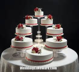 cake stand wedding 8 tier cascade wedding cake stand stands set 84 95 picclick