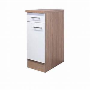 Küchenschrank 30 Cm Breit : k chen unterschrank rom k chenschrank mit 1 t r 30 cm breit weiss sonoma ebay ~ Watch28wear.com Haus und Dekorationen