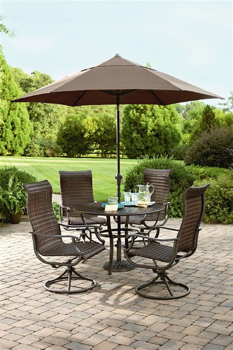 ty pennington style manchester 5 piece wicker dining set