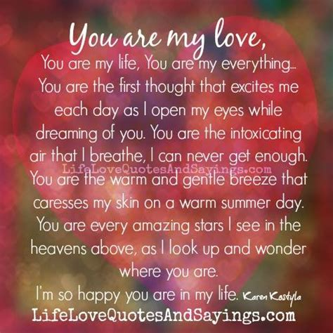 You Are My Everything Quotes. Quotesgram